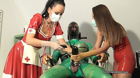 Rubber doll training at the clinic stage 2 part1